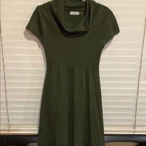 Cowl neck Calvin Klein knit dress
